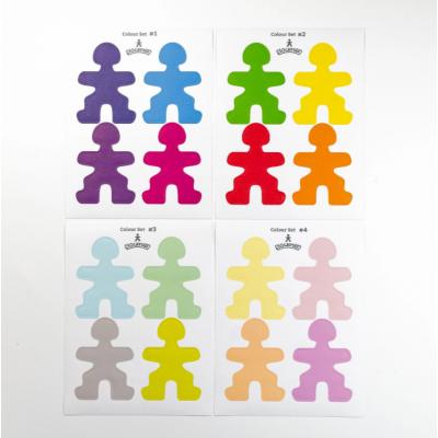 Flockmen - Color Sticker Set