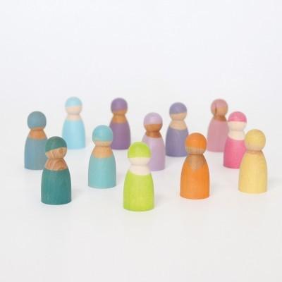 Grimm's 12 Pastel Friends