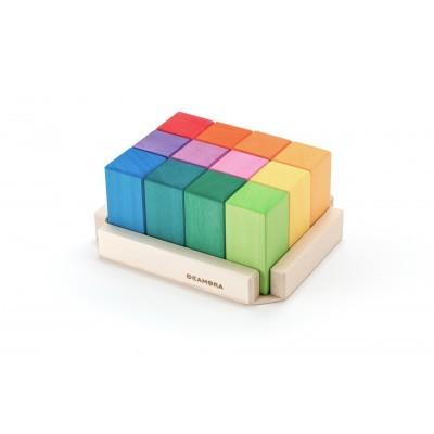 Ocamora   Colored Rectangular Prisms