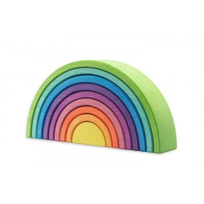 Ocamora | 9 piece Rainbow - Green