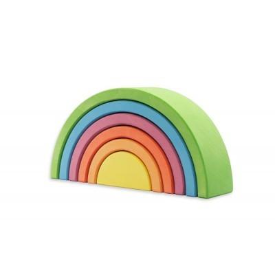 Ocamora   6 piece Rainbow - Green