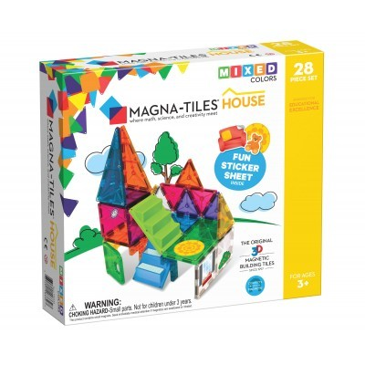 Magna-Tiles | House 28-Piece Set