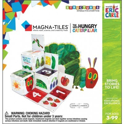 Magna-Tiles | The Very Hungry Caterpillar