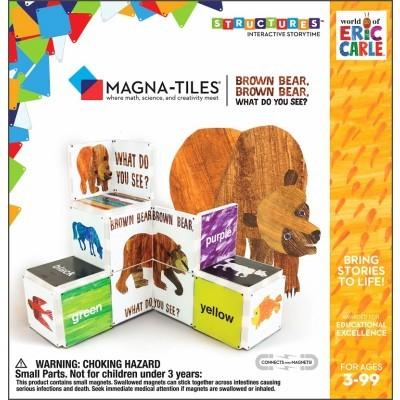 Magna-Tiles | Brown Bear