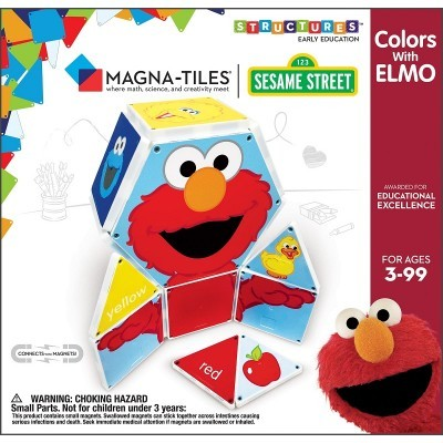 Magna-Tiles | Colors with Elmo