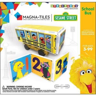 Magna-Tiles   School Bus