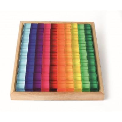 Bauspiel 100 Lucent Cubes