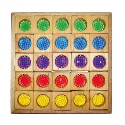 Bauspiel Colored Windows 25 pcs