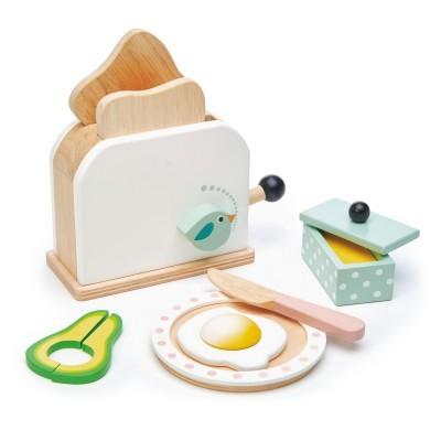 Mini Chef Breakfast Toaster Set