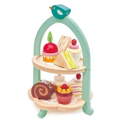 Mini Chef Birdie Afternoon Tea Stand