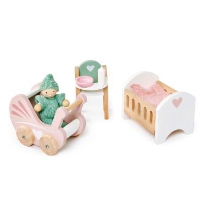 Dolls House Nursery Set