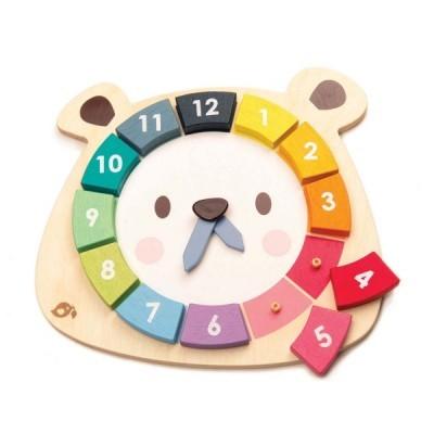Bear Colors Clock