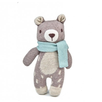 Fred The Bear Knitted Toy