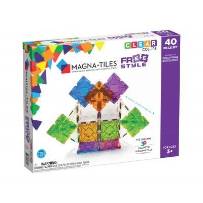 Magna-Tiles | Freestyle 40-Piece Set
