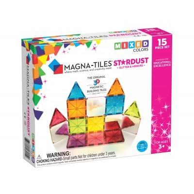 Magna-Tiles | Stardust 15-Piece Set