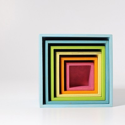 Grimm's Large Pastel Set of Boxes