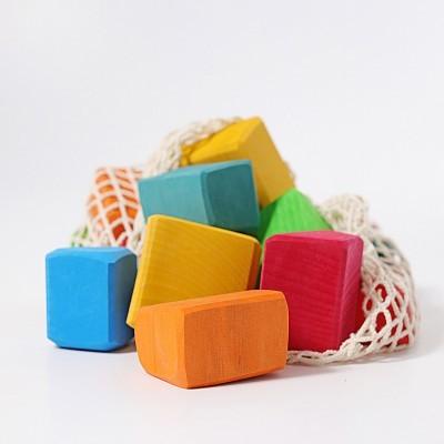 Grimm's Colored Waldorf Blocks