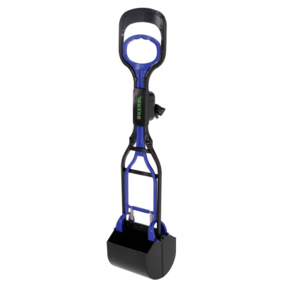 Poop Scoop Maxi Clean Up black/blue 71x13x14cm