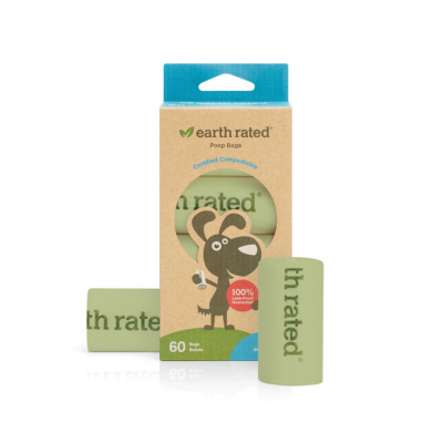 Poop Bags 120pcs - Unscented - Earth Rated