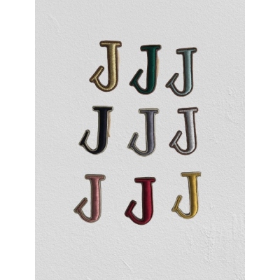 SMALL SIZE LETTER J BROOCH