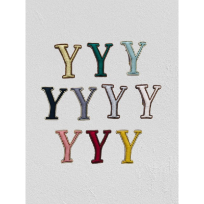 SMALL SIZE LETTER Y BROOCH