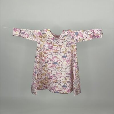 Kids A cut with Sleeves Pink Cycles