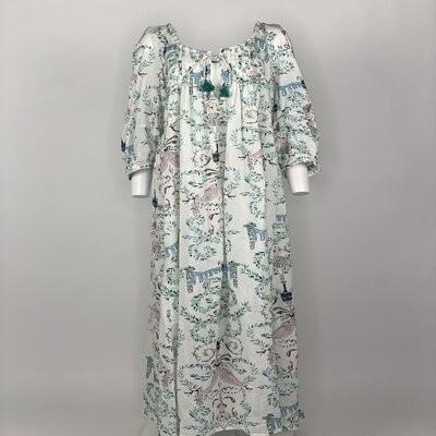 Vintage Prairie Dress Mihraja Dark