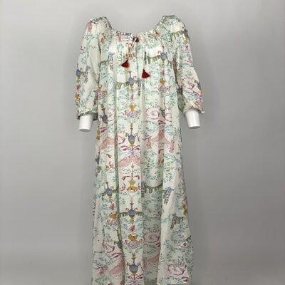 Vintage Prairie Dress Mihraja Light