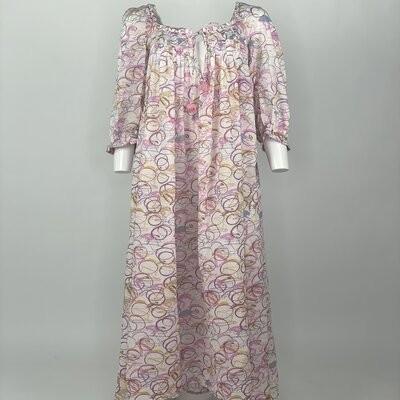 Vintage Prairie Dress Pink Cycles