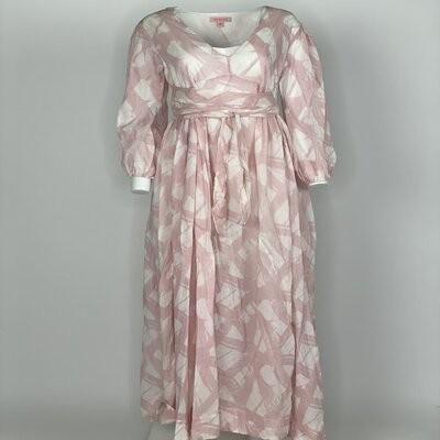 Empire Dress Pink Brush