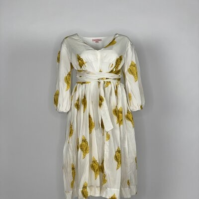 Empire Dress Yellow Shell