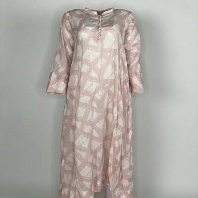 Chinese Button Pink Brush
