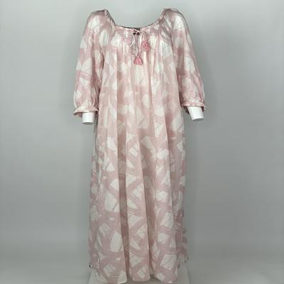 Vintage Prairie Dress Pink Brush