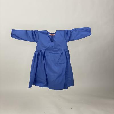 Kids Empire Dress Plain Blue
