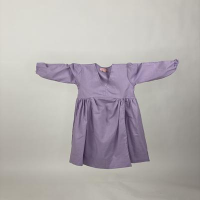 Kids Empire Dress Plain Purple