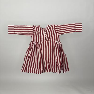 Kids Side Pleats Red Stripe