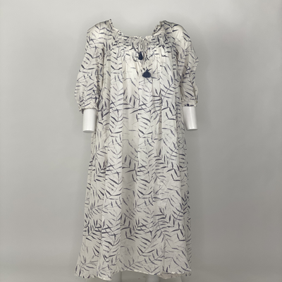 Vintage Prairie Dress Lavender Fern