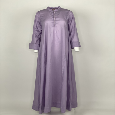 Chinese Button Purple Plain